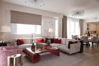 Designers Robin Baron Living Room