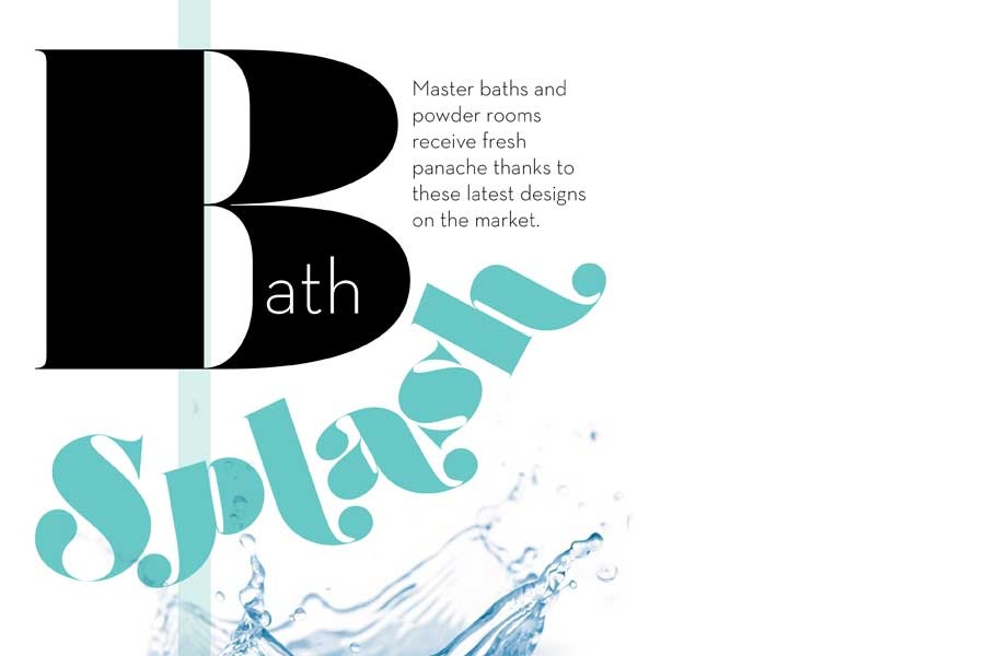 Bath Splash: New Product Focus