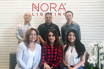 Nora Lighting Announces Six New Hires