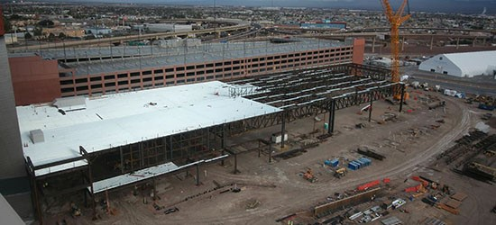 Opening of The Expo at World Market Center Las Vegas on Schedule