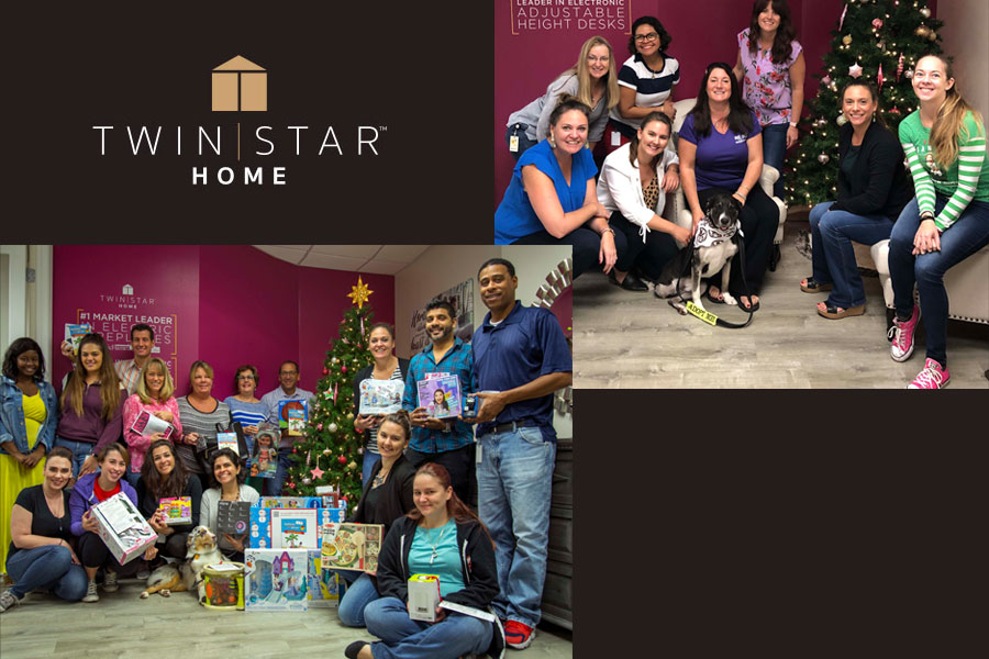 Twin Star Home Grants Wishes for Children & Dogs