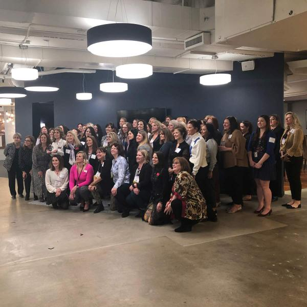Progress Lighting hosted the Women in Lighting reception, complete with networking, cocktails and snacks, and the leadership award presentation.