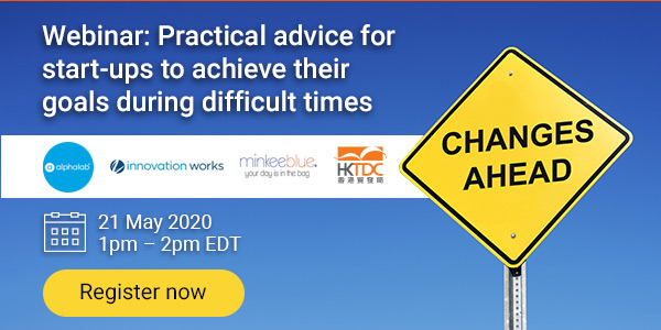 HKTDC Offers Expert Advice for Start-Up Companies via Free Webinar