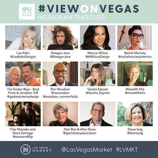 Be a Part of the Las Vegas Market Action as Top Tastemakers Share Their Favorite Finds