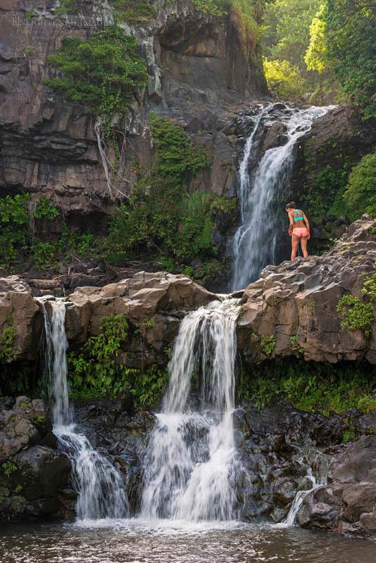 Photo: Pools of 'Ohe'o - The Seven Sacred Pools at 'Ohe'o Gulch, Haleakala National Park at Kipahulu, Maui, Hawaii