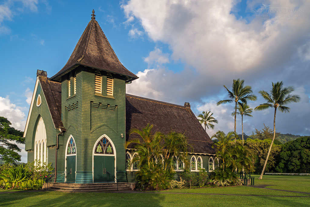 Photo: Waioli Huiia Church, Hanalei, Kauai