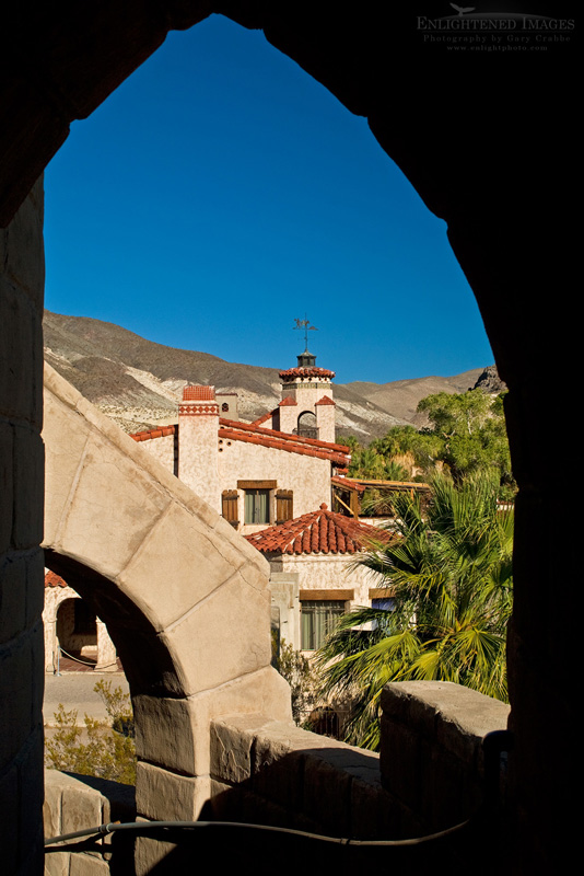 Photo: Scotty's Castle, Death Valley National Park, California