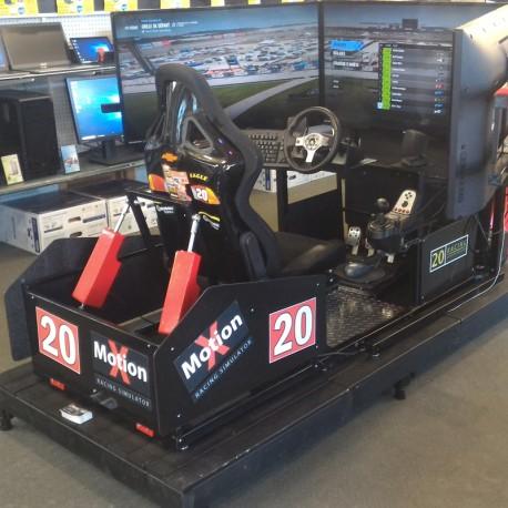 x motion racing simulator