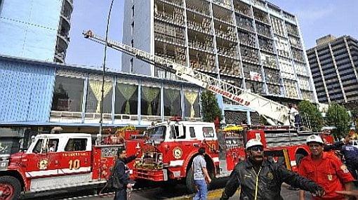 Referencial: Incendio en Lima
