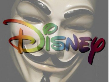 Disney Latino, otro blanco de Anonymous