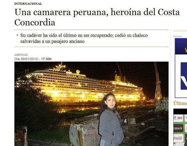 Publicación en el diario ABC de España