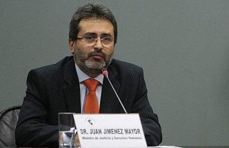 Ministro Juan Jiménez Mayor