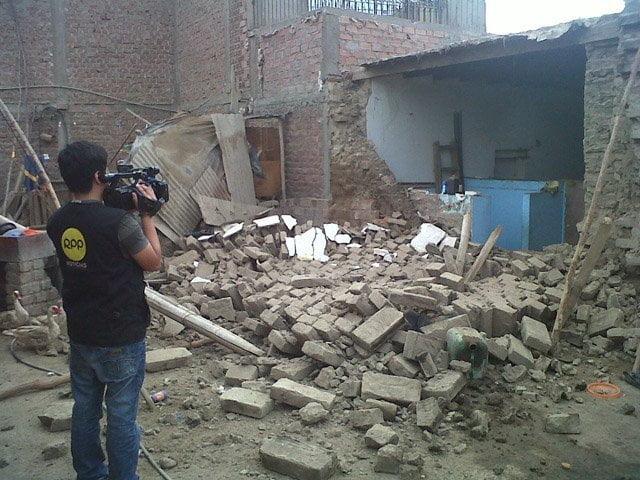 Referencial: 16 viviendas afectadas por sismo