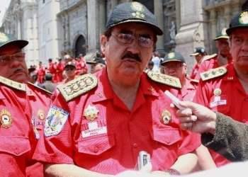 Comandante general del Cuerpo General de Bomberos, Antonio Zavala