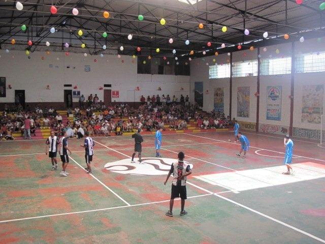 Campeonato de fútbol en penal de Lurigancho