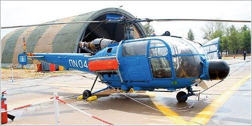 Helicóptero modelo Aluet (Referencial)