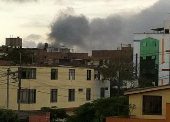 Incendio en SMP (Referencial)