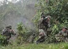 Militares en el VRAE