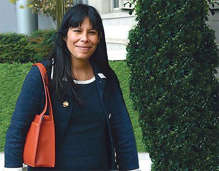 Acusada de terrorismo, Mónica Feria