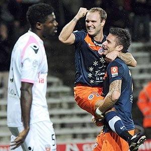 Montpellier es el nuevo líder de la Liga francesa de fútbol