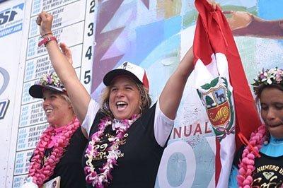 Sofía Mulanovich terminó segunda en el Abierto de Australia