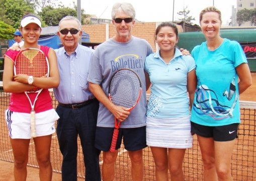 Las chicas del tenis capitaneadas por Melzi buscarán superar a Bolivia