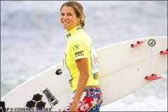Sofía Mulanovich avanzó a la tercera etapa del Roxy Pro en Australia