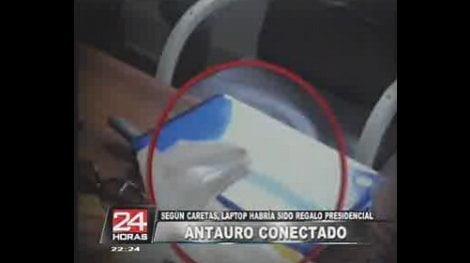Laptop de Antauro Humala
