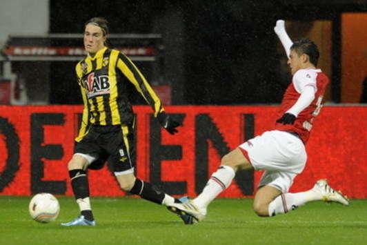 AZ Alkmaar no pudo con NAC Breda e igualó sin abrir el marcador