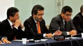 Ministro de Justicia Juan Jiménez