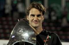Roger Federer campeonó en Dubai y con ello logró 72 torneos en su carrera