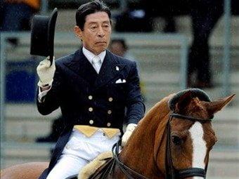 Hiroshi Hoketsu espera el anuncio oficial de la Federación Ecuestre de Japón para participar en los JJ.OO de Londres
