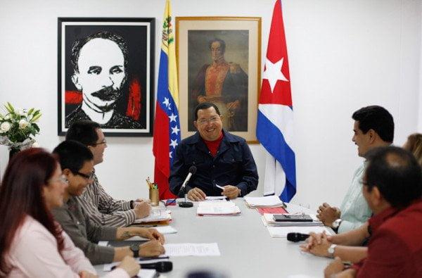 Hugo Chávez reapareción en TV