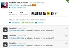 Madonna en Twitter