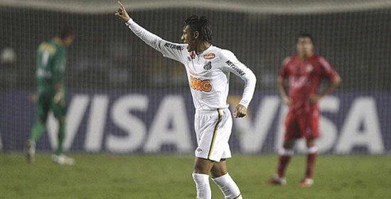 Santos derrotó con facilidad al Juan Aurich y es líder del Grupo 1 de la Copa Libertadores