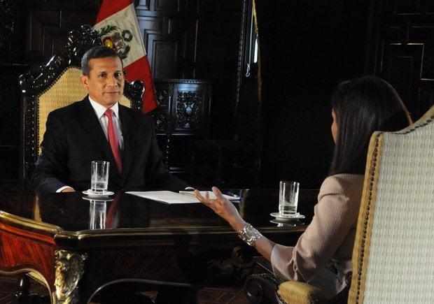 Ollanta Humala en entrevista con Panorama