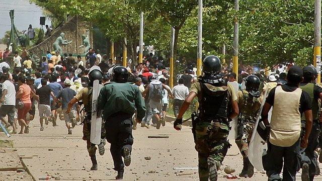 Protestas con consecuencias fatales (Foto: RPP)