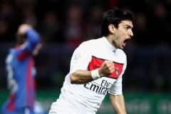 Javier Pastore fue figura al marcar los dos goles en el empate del PSG 2-2 contra el Caen