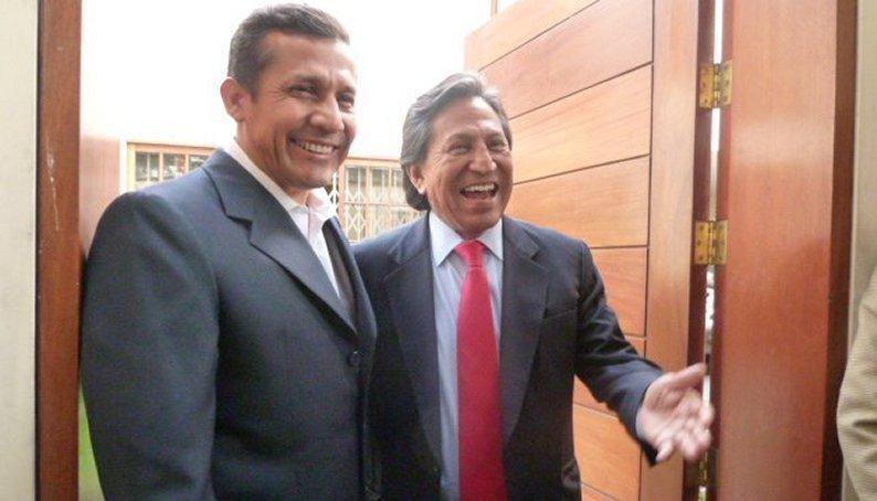 Ollanta Humala y Alejandro Toledo