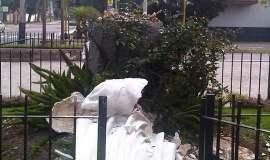 Atentado contra imagen de la Virgen de Fátima (Foto: RPP)