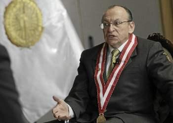 Fiscal José Peláez habla fuerte y claro