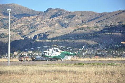 Helicóptero PNP - VRAE