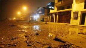 Inundación en Chorrillos