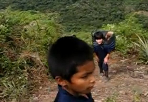 Niños Pioneritos usados por Sendero Luminoso