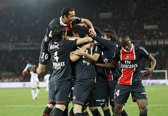 Paris Saint Germain lucha el título con el Montpellier