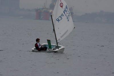 Sanguinetti logró el campeonato sudamericano de Vela Optimist