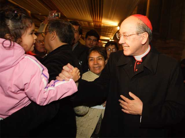 "Cipriani espera que ""Dios ilumine"" a Humala para indulto a Fujimori"