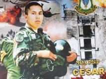 Policía César Vilca, héroe nacional