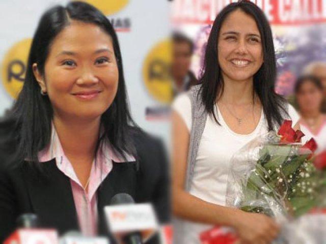 Keiko Fujimori y Nadine Heredia