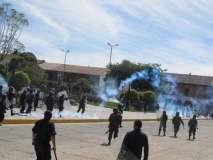 Protestas en Ayacucho